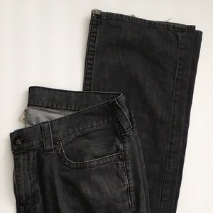 True Religion Men's Ricky Gray Distressed Jeans